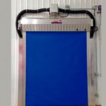 Puerta enrollable cuarto de congelación